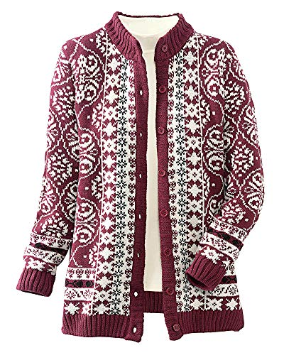 Cardigan Sweaters for Older Womens