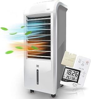 冷風扇 暖房&加湿&マイナスイオン機能搭載 温冷風扇 ヒート & クール ZHC-1200 ゼンケン 正規品「温度&湿度計」付き