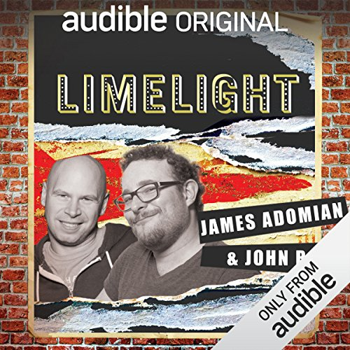 Ep. 21: Just Words With James Adomian and John Roy (Limelight) audiobook cover art