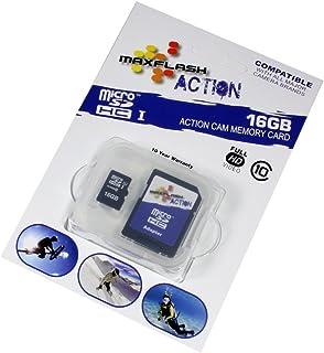 Tarjeta de Memoria microSDHC 16GB para Nikon D3500 Clase 10 Full HD