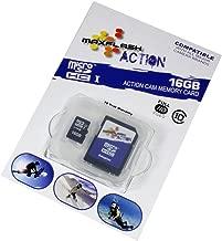 Scheda Di Memoria 16GB Per Canon PowerShot SD990 IS (micro SD)Class 10