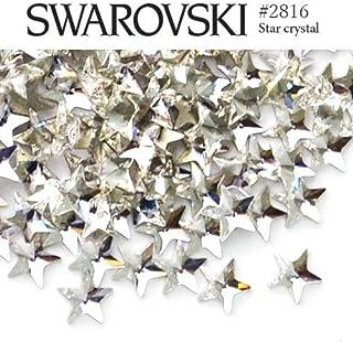 #2816 スター (星) [クリスタル] 5粒入り スワロフスキー ラインストーン レジン パーツ ネイルパーツ ジェルネイル デコパーツ スワロ