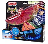 Duncan Toys Dragon Hawk Light-Up Flying Bird - Day/Night Motorized Toy with Shake Auto Start, USB Charger, 2 Flight Positions