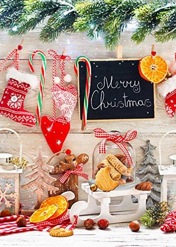 Coloc foto, 150 x 220 cm, wasbaar, waterbestendig, achtergrond voor Kerstmis, wanddecoratie, tafeldecoratie D-3162