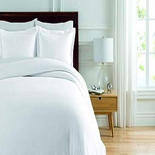 Soho New York Home Lafayette 3-Piece Duvet Set, Full/Queen, White