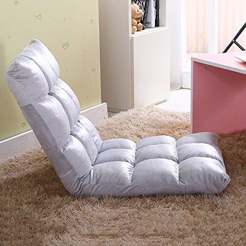 Fauteuils inclinables Feifei Fauteuil Paresseux canapé Chaise Pliante canapé-lit Chaise Paresseux Chaise Pliant (Couleur : Silver Grey)