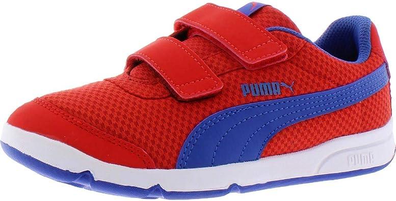 PUMA Unisex-Child Stepfleex Hook and Loop Sneaker
