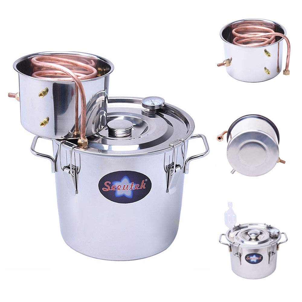 Seeutek Gallon 12L Moonshine Distiller