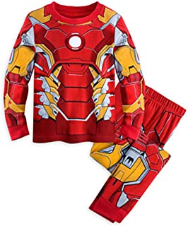 Spiderman Pajamas,Boys Pajamas Kids Short Sets 100% Cotton Clothes Cartoon Sleepwears