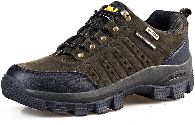 BERTERI Men's Hiker Leather Winter Waterproof Hiking Boot Anti Cold Outdoor Backpacking shoes