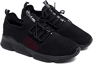 ASIAN Men's Hattrick-04 Sneakers,Ultra-Lightweight, Breathable, Walking, Running Running Shoes Fabric Sports Shoes