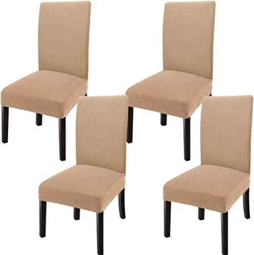 GoodtoU Dining Room Chair Covers Stretch Universal Dining Chair Slipovers Parsons Chair Slipcovers for Dining, Kitche...