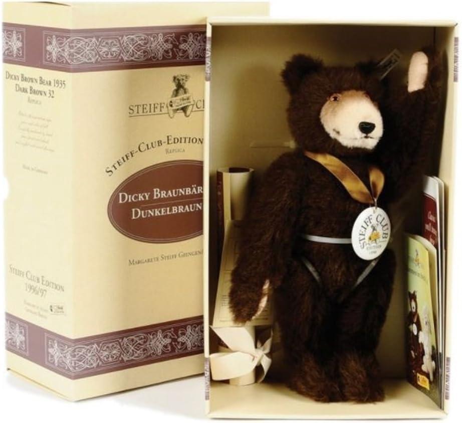 Steiff Club Long-awaited Bear Dicky 1935 Toy 1997 420078 -1996 Max 59% OFF Replica