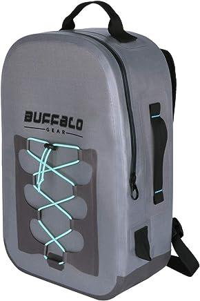 Buffalo Gear Waterproof Duffel Bag Large Dry Bag Backpack for Travel c48c3a4433a5e