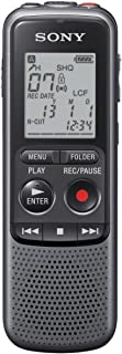 Sony 4GB PX Series MP3 Digital Voice IC Recorder With Built-In Stereo Microphone