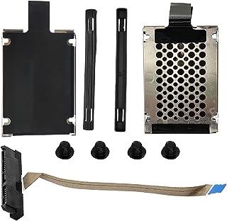 HUANMEFANG 2セカンドSATAハードドライブケーブルコネクター 2.5インチ SSD HDDキャディブラケット付き Asus TUF Gaming F15 FX506 A15 FA506 FA506IV FA506IU FA706 H...