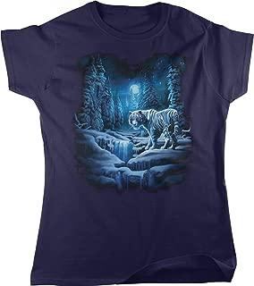 Snow Tiger, White Tiger Women's T-Shirt