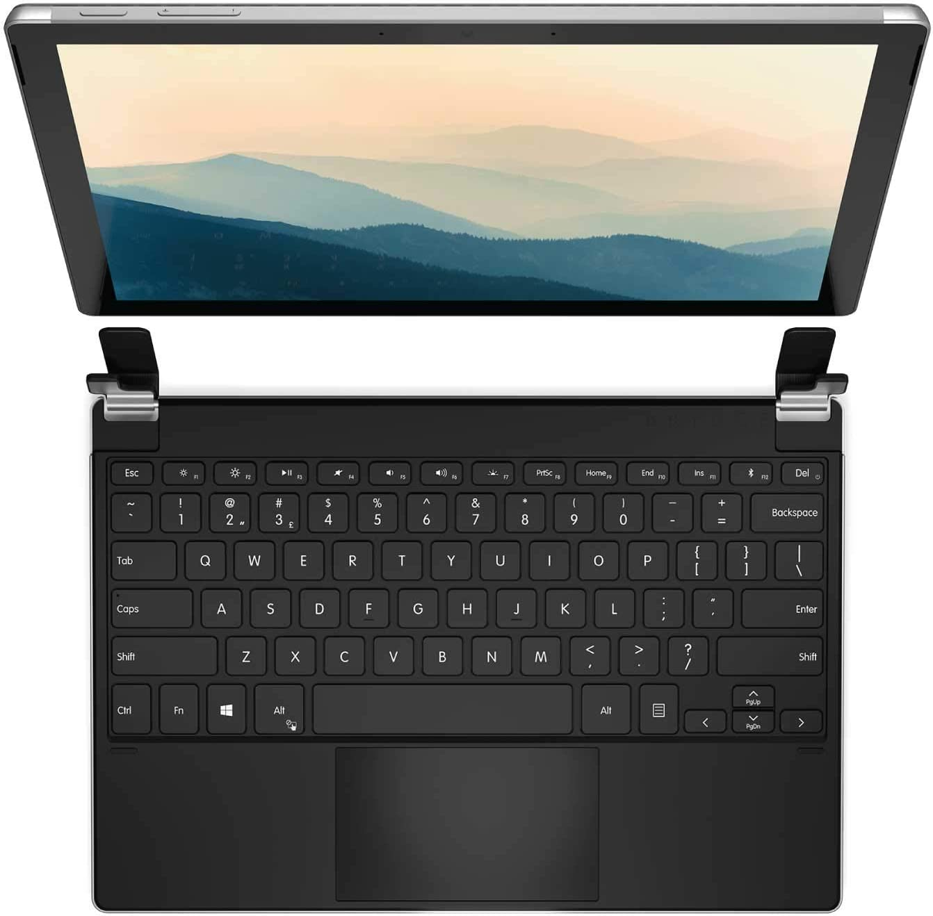 Brydge famous 12.3 Pro+ Wireless famous Keyboard Com Touchpad Precision with