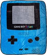 Bioworld Nintendo Gameboy Color Plush Throw Fleece Blanket Soft Fuzzy 48