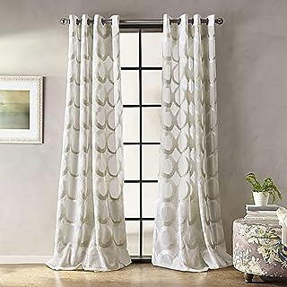 Marni 63-Inch Grommet Sheer Window Curtain Panel in Linen