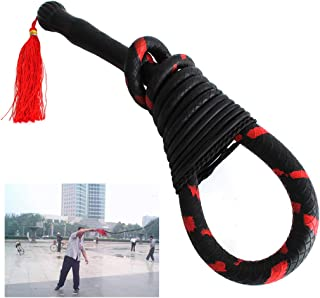 Rubber Fitness Whip Horse & Bull Obedience Training Whips Catwoman Whip Halloween Gifts Adult Leather Whip Cowhide Outdoor...