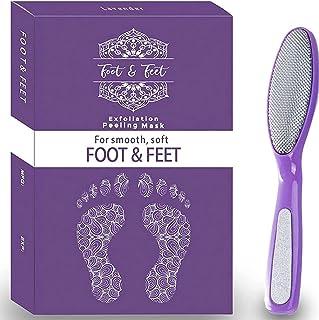 Foot Peel Mask With Foot File l Exfoliating Foot Peel Mask l Baby Feet Peel Foot Mask, Foot Exfoliator Feet Peeling Mask, ...