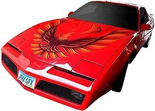 Phoenix Graphix 1982 1983 1984 1985 1986 1987 1988 1989 1990 1991 1992 Firebird Trans Am Hood Bird Custom-Use Decal Kit - Gold