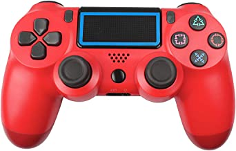 Powtree PS4 Game Controller Wireless Controller for Sony Playstation 4 /Slim/Pro Console Motion Controls with 6-Axis Gyro ...