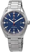 Omega Seamaster - Reloj automático para Hombre, Esfera Azul, 220.10.40.20.03.001