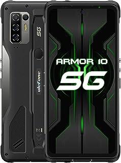 """Ulefone Armor 6s IP68防水頑丈ロック付き携帯電話、Android 9.0屋外スマートフォン6.2""""19:9 FHD +、Helio P70 6GB + 128GB、デュアル4G LTEグローバルバンド、GPS + GLONA..."""