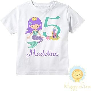 mermaid monogram shirt