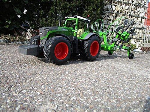 RC Auto kaufen Traktor Bild 5: RC Traktor FENDT 1050 SCHWADER-Anhänger XL Länge 70cm
