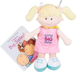 MartLoop Super Big Sister Doll with Cape and I am a Big Sister Book By Carolyn Jayne Church Gift Set Bundle