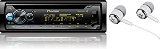 Pioneer In-Dash Built-in Bluetooth CD, MP3, Front USB, Auxiliary, Pandora, AM/FM Dual Phone Connection Stereo Receiver