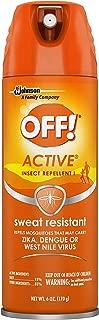 off active sweat resistant