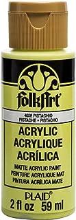 FolkArt 4658 Acrylic Paint, 2 oz, Pistachio