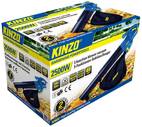 KINZO Blower 3-in-1 2500 W, 230 V, GS, 46630