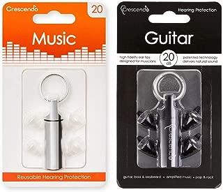 【2種セット】Crescendo Music + Guitar イヤープロテクター