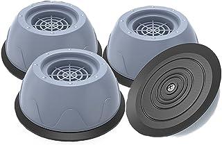 Patins Anti Vibration,4 Pièces Tampon Anti-vibration Lave Linge, Patins Anti-Vibrations caoutchouc antidérapant pour Lave-...