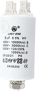 Aexit EN60252 Cylinder Passive Components Shaped Motor Run Capacitor AC 400V Capacitors 1000h/c 6uF