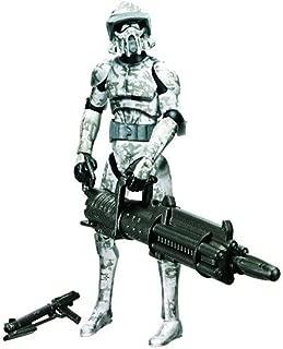 Star Wars 2010 Clone Wars Animated Action Figure CW No. 24 Jungle Camo ARF Trooper