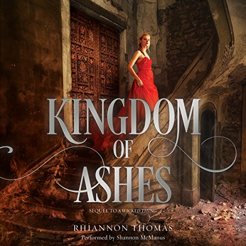 Kingdom of Ashes audiobook cover art
