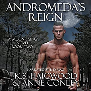 Andromeda's Reign audiobook cover art