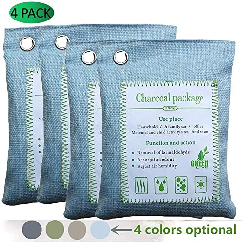 Best Prices! Any leampp Odor Eliminator Air Purifying Eliminator Bag Green Charcoal Odor Activated B...