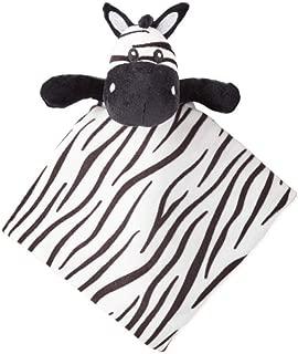 Okie Dokie Zebra Lovey Security Blanket for Baby
