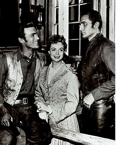 Eric Fleming Clint Eastwood June Lockhart Rawhide 8x10 Photo #U2146