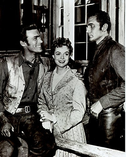 Eric Fleming Clint Eastwood June Lockhart Rawhide 8x10 Photo #U2146