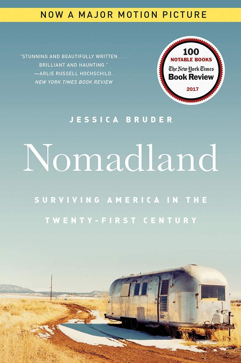 Cover image of Nomadland by Jessica Bruder