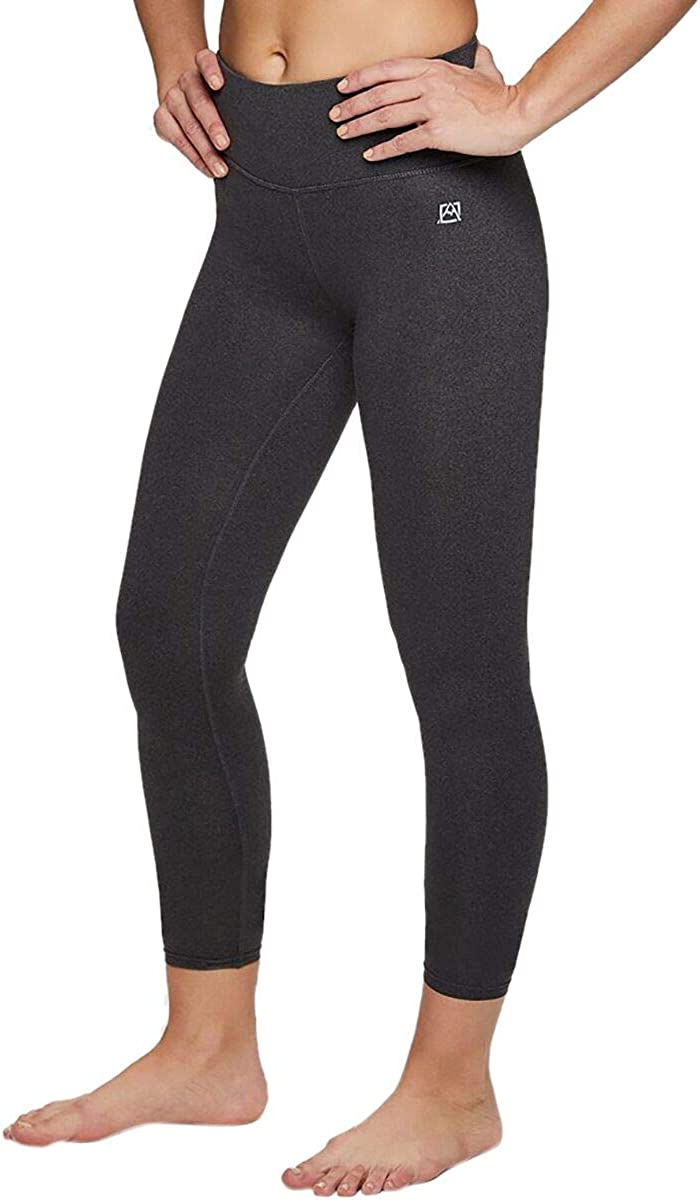 Avalanche Women's Mid Rise Breathable Super Soft Microsuede Lounge Base Layer Legging