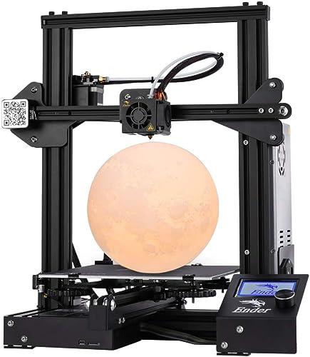 Creality Ender 3 3D Printer Build Volume 220x220x250mm